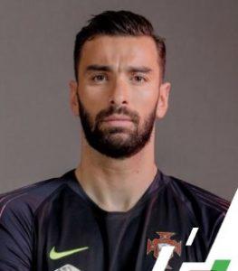 Руй Патрисиу сборная Португалии: профиль игрока ЧМ 2018