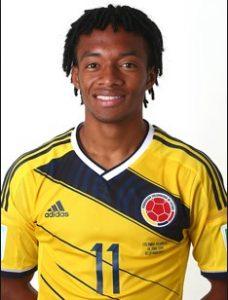 Хуан Куадрадо Колумбия: профиль игрока ЧМ 2018