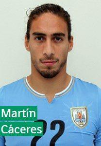 Мартин Касерес Уругвай: профиль игрока ЧМ 2018