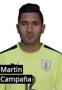 Мартин Кампанья Уругвай: профиль игрока ЧМ 2018