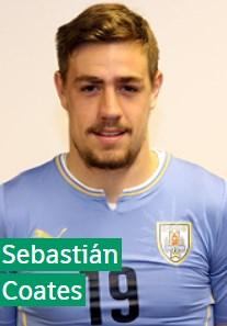 Себастьян Коатес Уругвай: профиль игрока ЧМ 2018