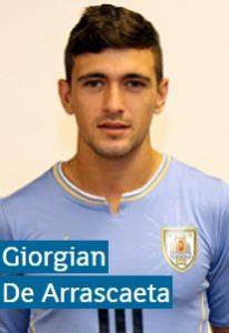 Джорджиан де Арраскаэта Уругвай: профиль игрока ЧМ 2018