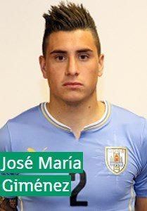 Хосе Мария Хименес Уругвай: профиль игрока ЧМ 2018