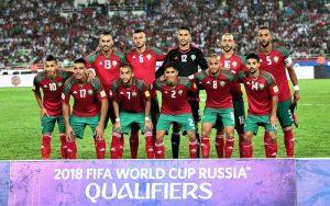 Сборная команда Марокко на Чемпионате мира 2018 в России