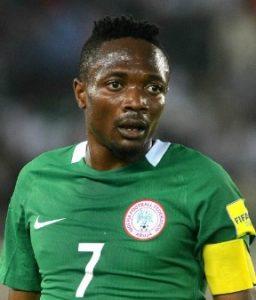 Ахмед Муса Нигерия: профиль игрока ЧМ 2018