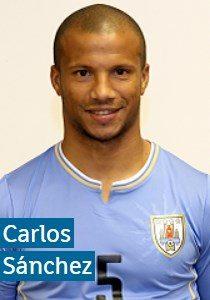 Карлос Санчес Уругвай: профиль игрока ЧМ 2018