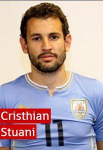 Кристиан Стуани Уругвай: профиль игрока ЧМ 2018