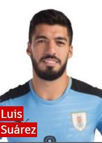 Луис суарес Уругвай: профиль игрока ЧМ 2018