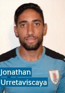 Джонатан Урретабискайя Уругвай: профиль игрока ЧМ 2018