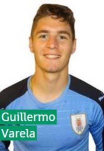 Гильермо Варела Уругвай: профиль игрока ЧМ 2018