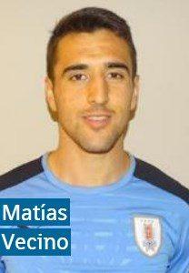 Матиас Весино Уругвай: профиль игрока ЧМ 2018