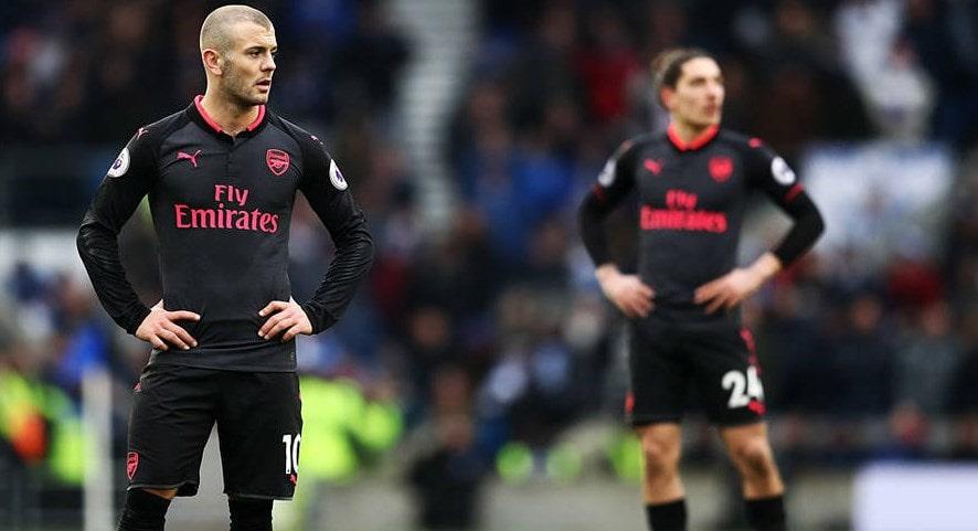 Арсенал на выезде уступил Брайтону. Обзор матча