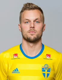 Себастиан Ларссон Швеция: профиль игрока ЧМ 2018