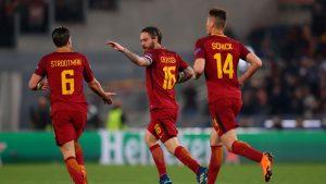 Рома Барселона: обзор матча и видео голов 10.04
