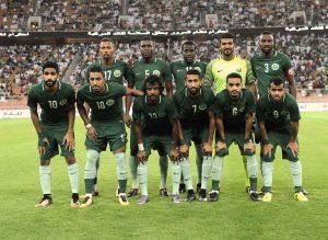 Сборная команда Саудовской Аравии ЧМ 2018