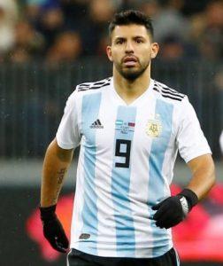 Серхио Агуэро Аргентина: профиль игрока ЧМ 2018