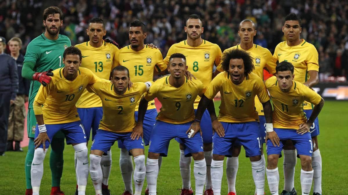 Сборная команда Бразилии на Чемпионате мира по футболу в России