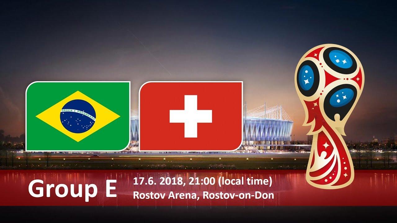 Матч Бразилия - Швейцария 17 июня пройдет в Ростове-на-Дону. Чемпионат мира 2018 в России
