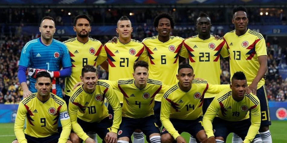 Команда Колумбии сыграет на Чемпионате мира в России 2018
