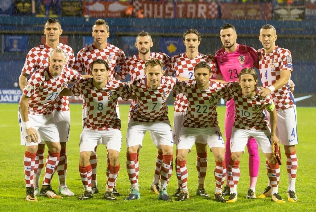 Сборная команда Хорватии на Чемпионате мира по футболу в России