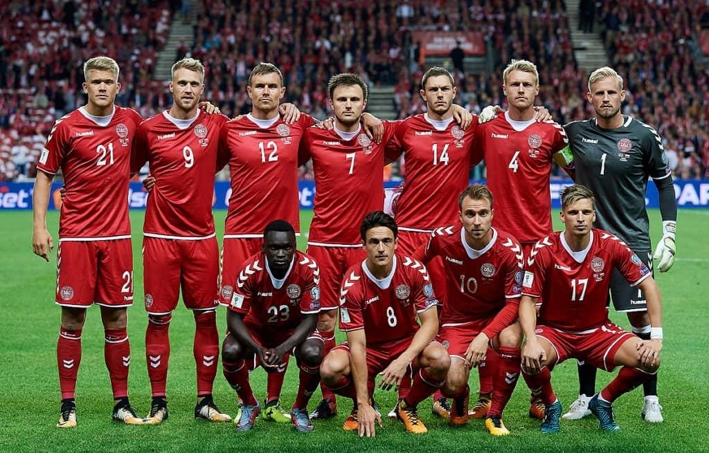 Сборная команда Дании на Чемпионате мира по футболу в России