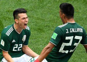 Матч Германия - Мексика: чемпион повержен