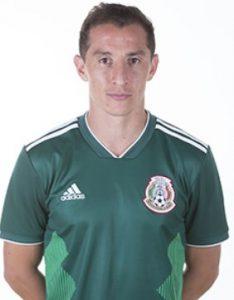 Андрес Гуардадо Мексика: профиль игрока ЧМ 2018