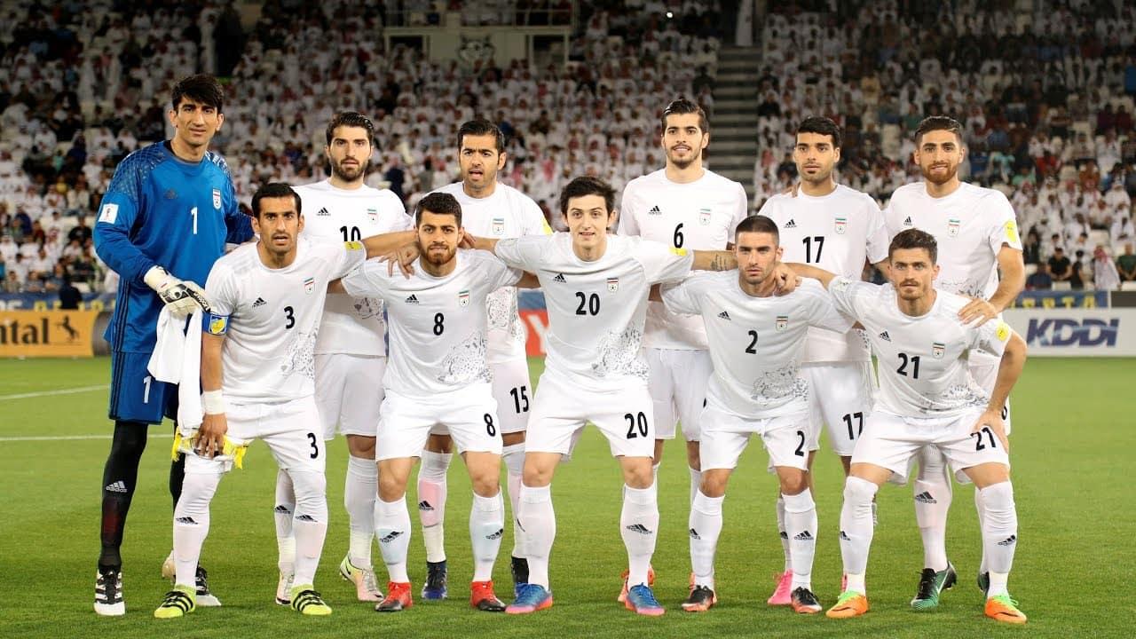 Сборная команда Ирана на Чемпионате мира 2018 в России - группа B