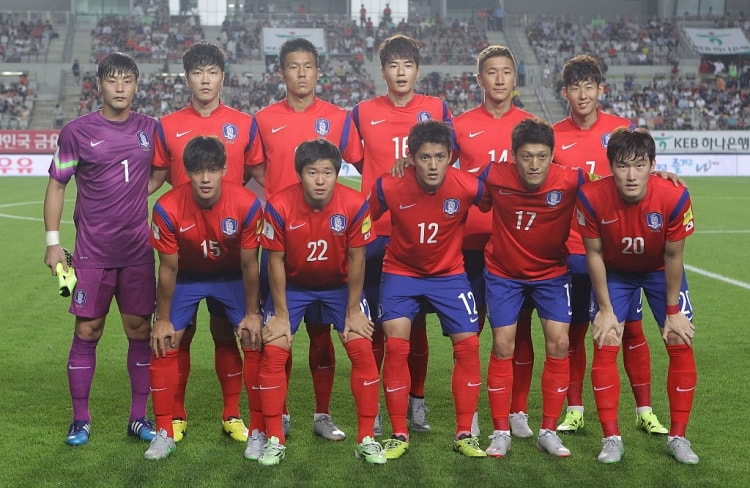 Команда Южной Кореи неизменно выходит на Чемпионат Мира с 1986 года.