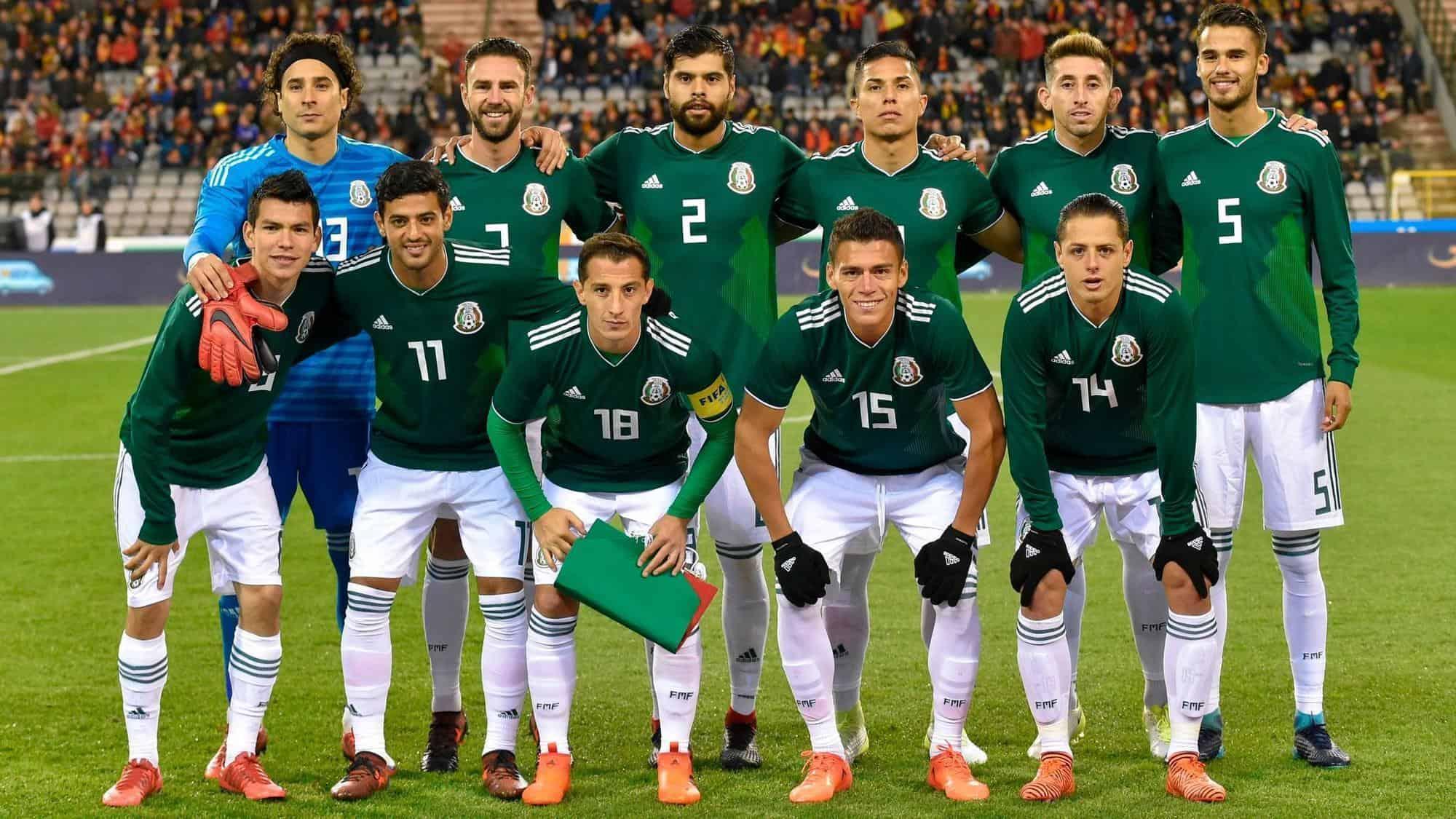 Команда Мексики сыграет на ЧМ 2018 с немцами