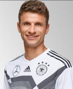 Томас Мюллер сборная Германии: профиль игрока ЧМ 2018