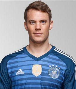 Мануэль Нойер сборная Германии: профиль игрока ЧМ 2018