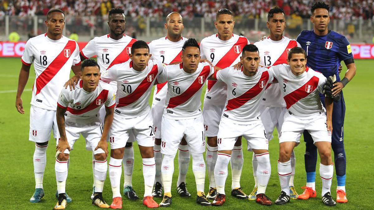 CСборная команда Перу на Чемпионате мира по футболу в России