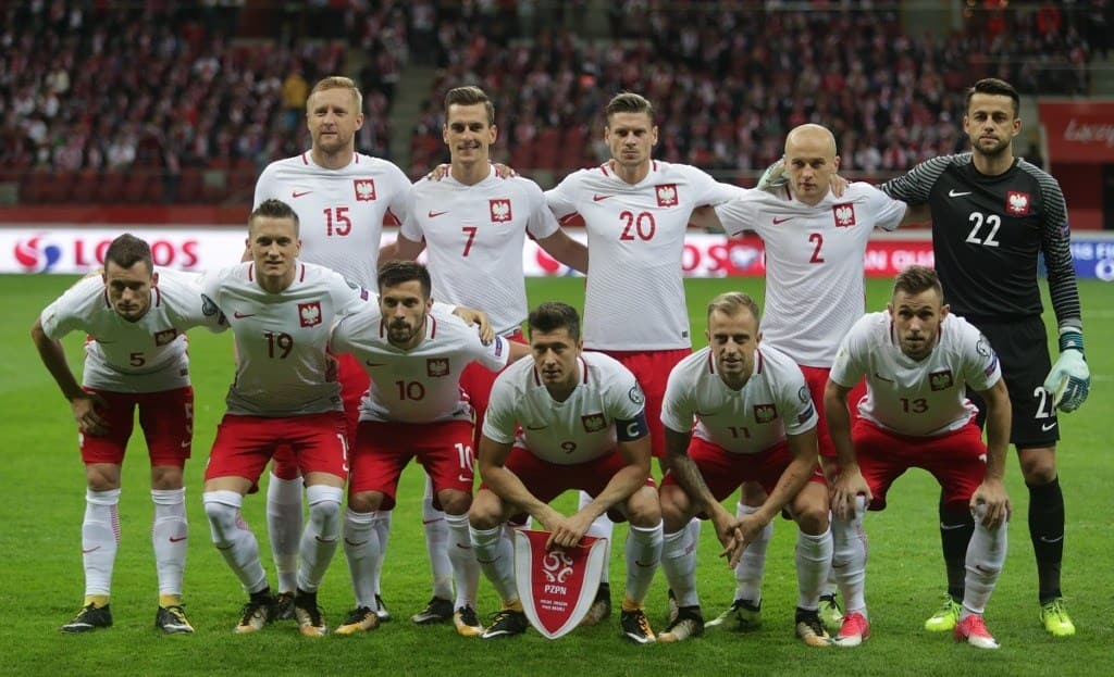Сборная команда Польши и Роберт Левандовски готовятся показать свой класс в Росии