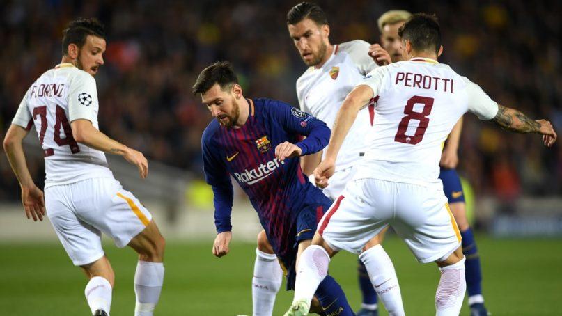 Рома Барселона анонс и прогноз матча 1/4 Лиги Чемпионов