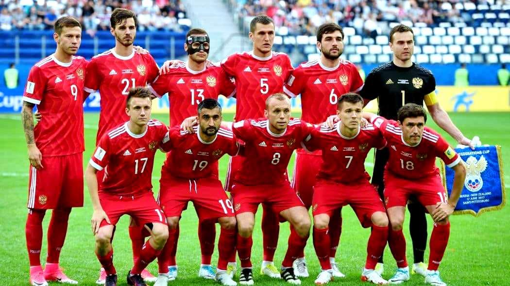 Сборная команда России сыграет первый матч против Саудовского Аравии