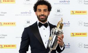 Мохамед Сала- игрок года в АПЛ