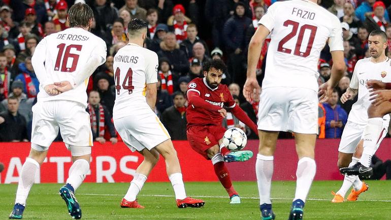 Ливерпуль Рома обзор матча и видео голов от Салаха