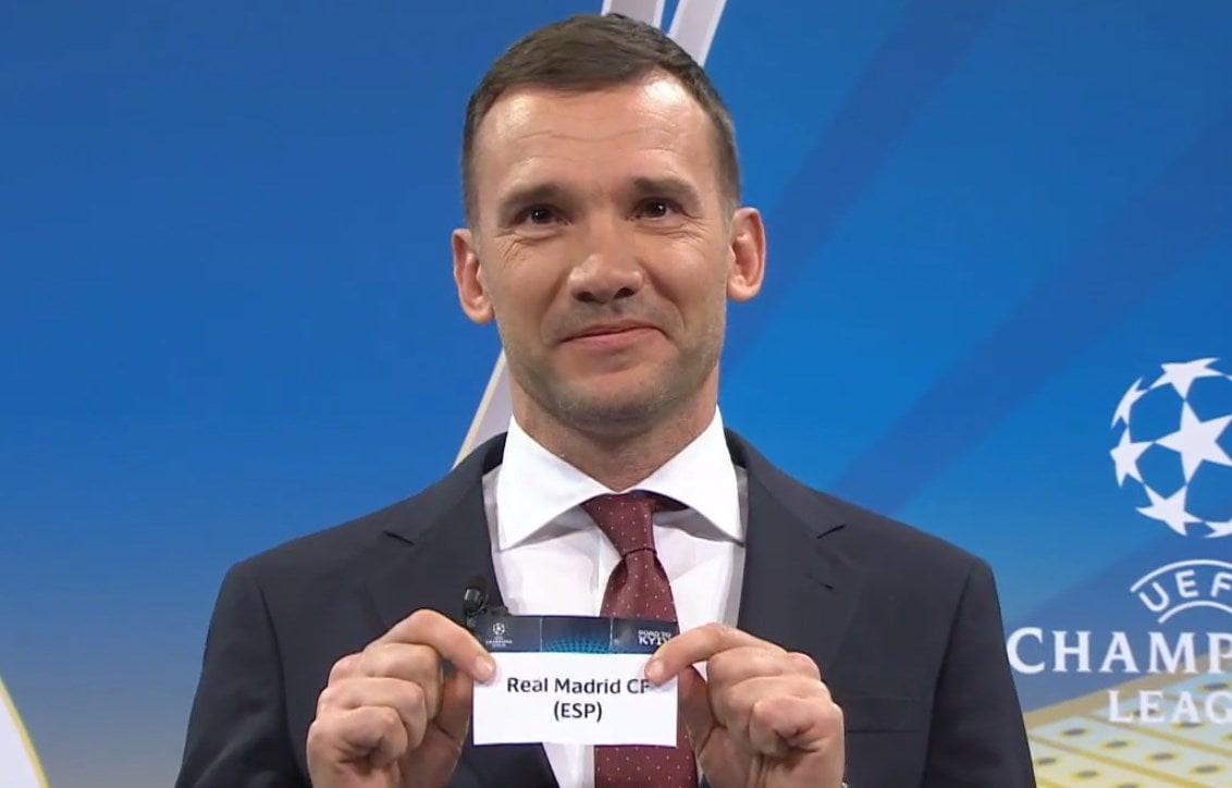 Жеребьевка ЛЧ: Шевченко подарил Баварии мадридский Реал