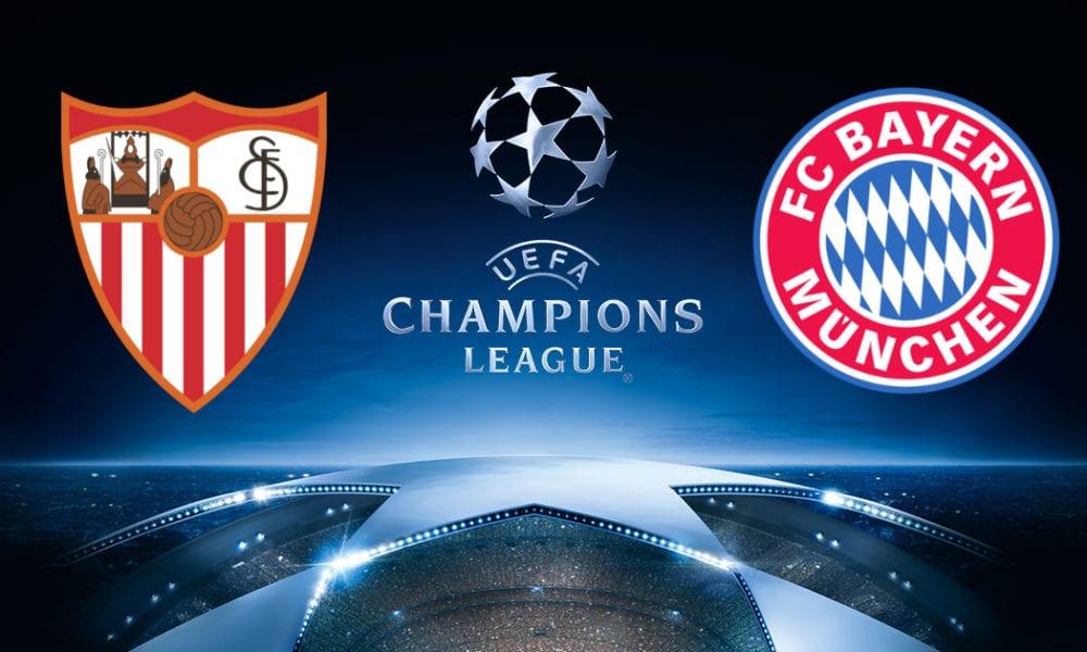 Прогноз и анонс матча Севилья Бавария