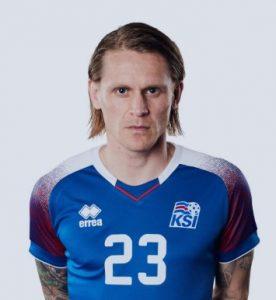 Ари Скуласон Исландия: профиль игрока ЧМ 2018