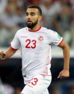 Наим Слити Тунис: профиль игрока ЧМ 2018