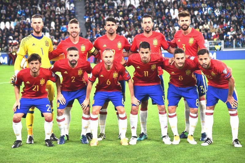 Сборная команда Испании на Чемпионате мира 2018