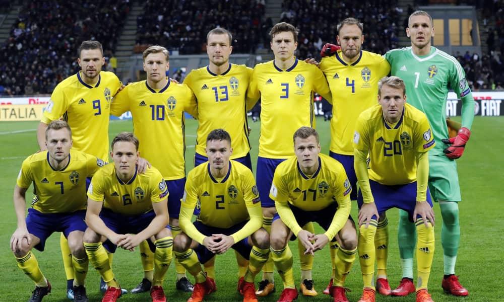 Национальная команда Швеции сыграет на ЧМ в России спустя 12 лет