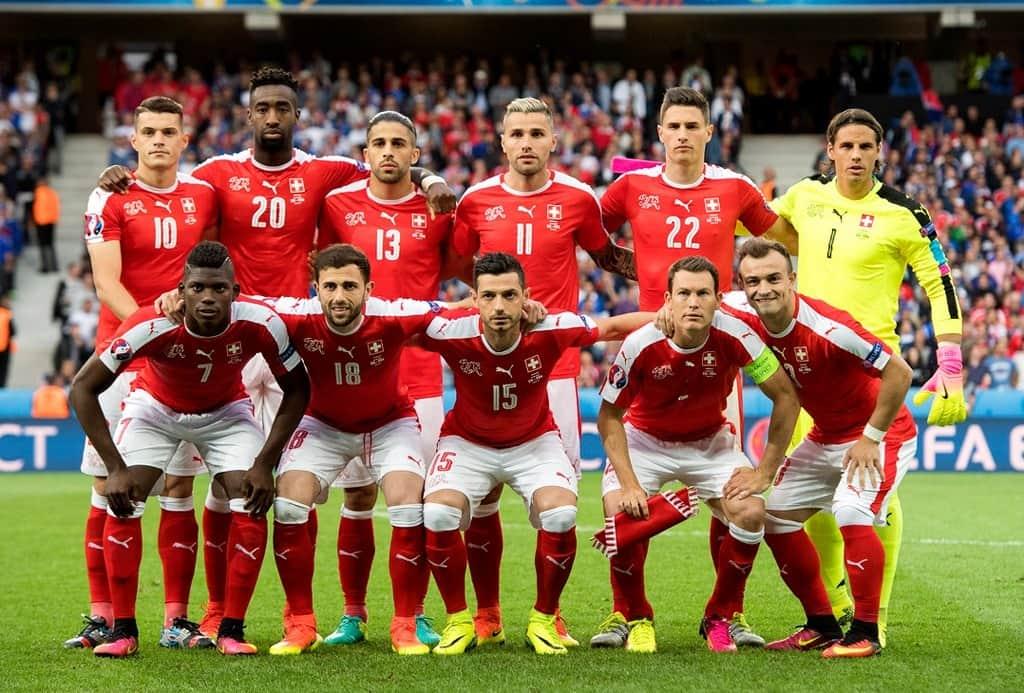 Сборная команда Швейцарии сыграет на Чемпионате мира с бразильцами и сербами