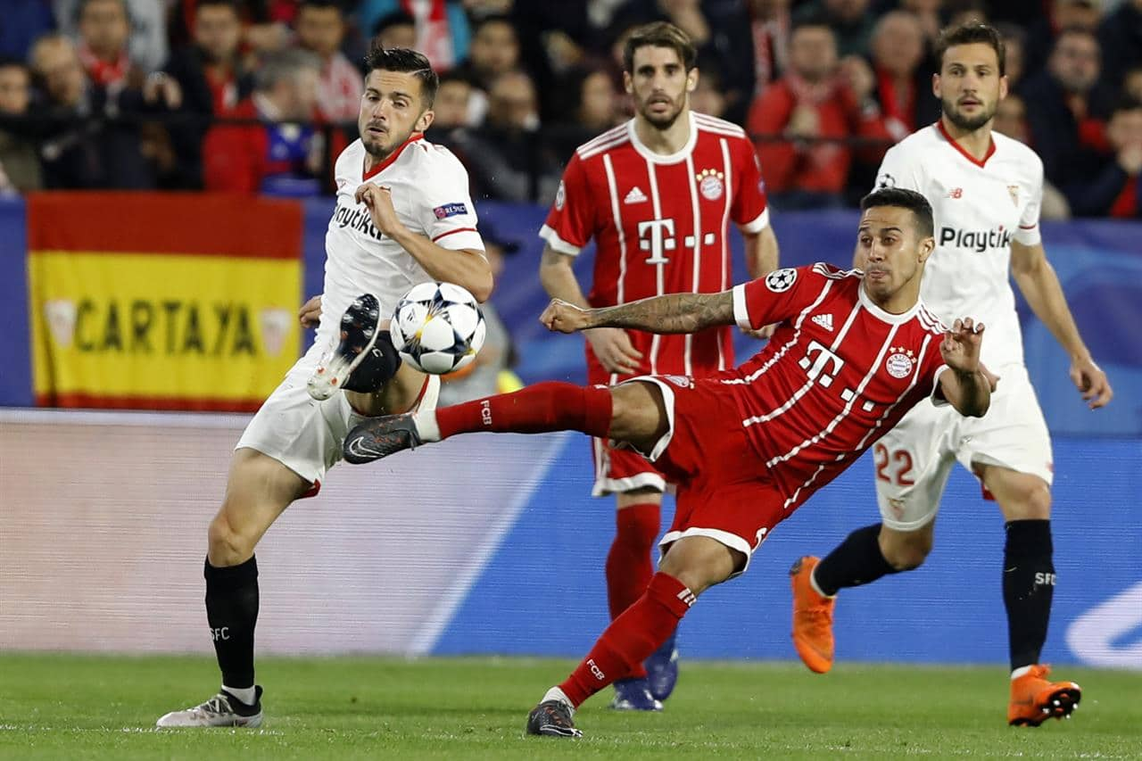 Севилья Бавария 1:2. Обзор матча от Sport2Cash.com