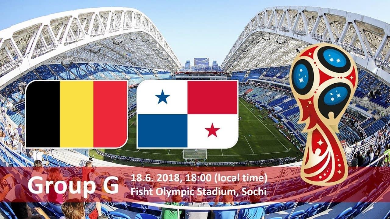 Матч Бельгия - Панама: 18 июня 2018, Сочи, Олимпийский стадион Фишт