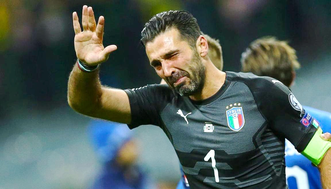 Слезы Буффона: Чемпионат мира 2018 пройдет без Италии