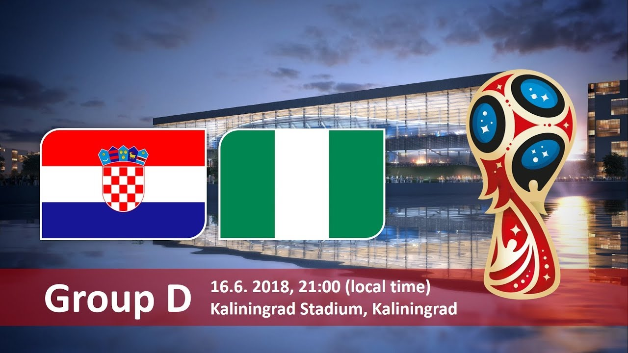 Прогноз на матч Хорватия - Нигерия: группа D, Чемпионат мира 2018 по футболу в России