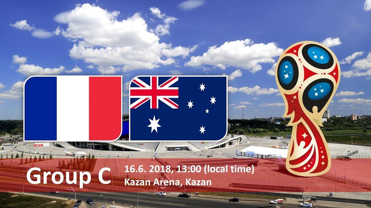 Матч Франция - Австралия открывает состязания в группе С и определит главного кандидата на выход в 1/8.